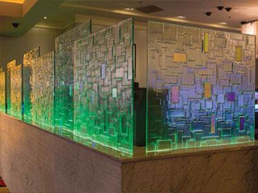 شیشه و آینه دکوراتیو